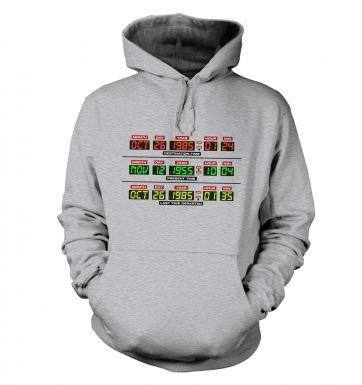 Delorean Dashboard hoodie