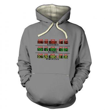 Delorean Dashboard hoodie (premium)