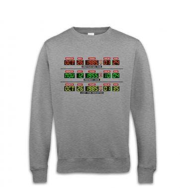 Delorean Dashboard sweatshirt