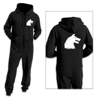 Dire Wolf adult premium warm onesie