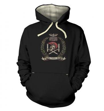 Distressed House Batiatus Crest   hoodie (premium)
