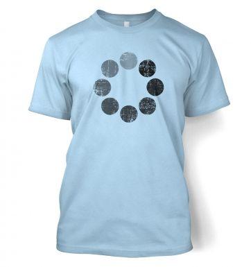 Distressed Loading Symbol t-shirt