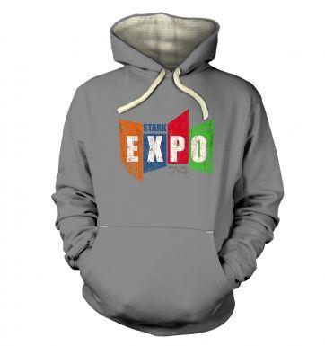Distressed Stark Expo  hoodie (premium)