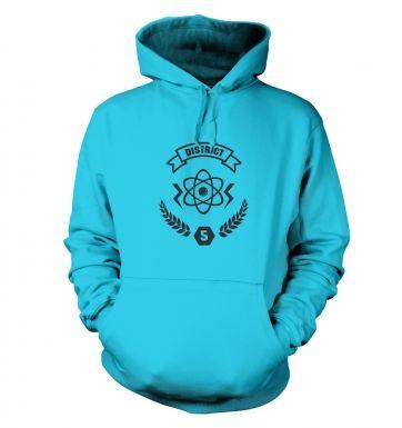 District 5 hoodie