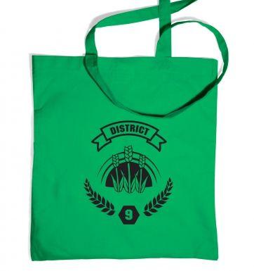 District 9 tote bag