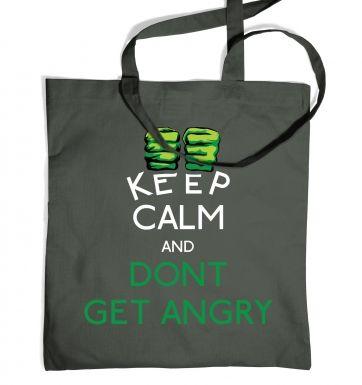 Dont Make Him Angry tote bag