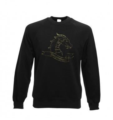 Gold Dragonslayer sweatshirt