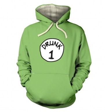 Drunk 1 hoodie (premium)