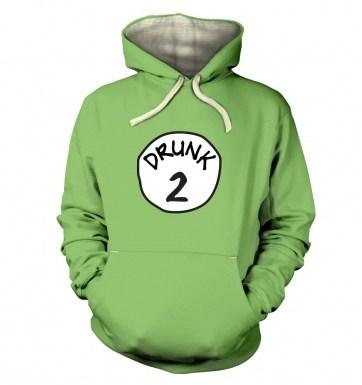 Drunk 2 hoodie (premium)