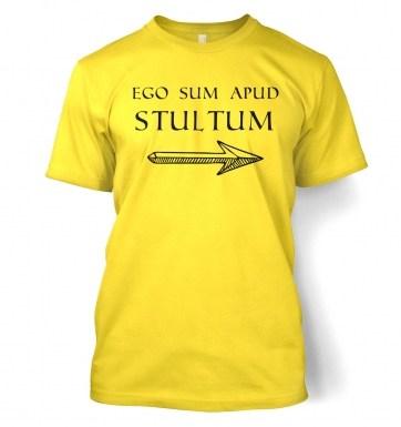 Ego Sum Apud Stultum t-shirt