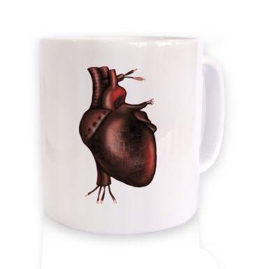 Electronic Heart mug