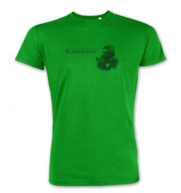 Elementropy Sherlock Holmes James Clerk Maxwell premium t-shirt