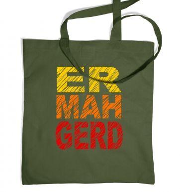 ERMAHGERD (Colour) tote bag