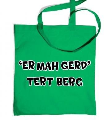 ER MAH GERD  TERT BERG  tote bag
