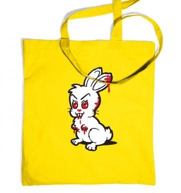 Evil Bunny tote bag
