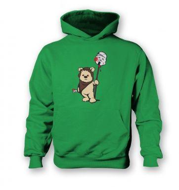 Evil Ewok  kids hoodie
