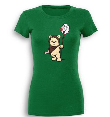 Evil Ewok premium women's t-shirt