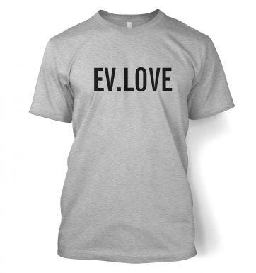 EV.LOVE  t-shirt