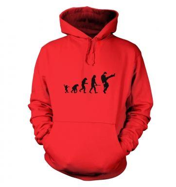 Evolution Of Silly Walks hoodie