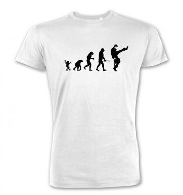 Evolution Of Silly Walks  premium t-shirt