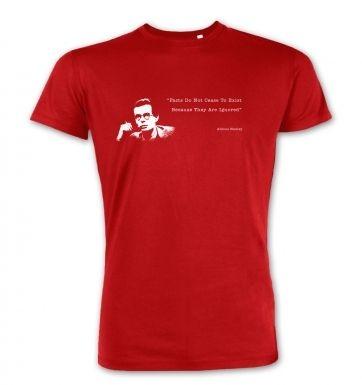 Facts Do Not Cease To Exist Aldous Huxley premium t-shirt