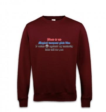 Fantasy Love Poem  sweatshirt