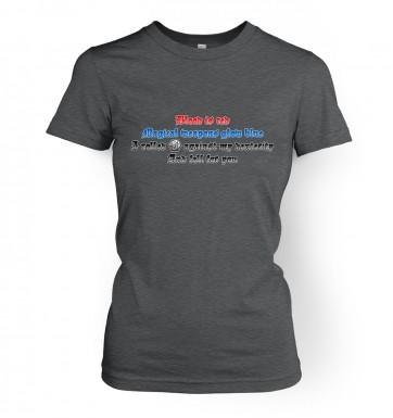 Fantasy Love Poem women's t-shirt