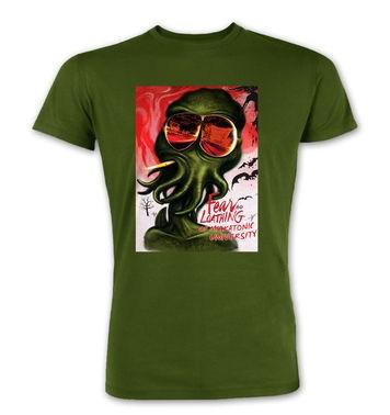 Fear And Loathing At Miskatonic University premium t-shirt