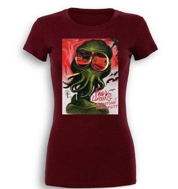 Fear And Loathing At Miskatonic University premium women's t-shirt