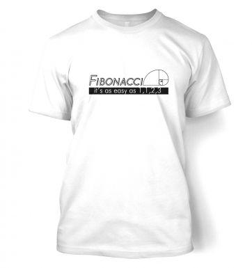 Fibonacci Is As Easy As 1,1,2,3  t-shirt
