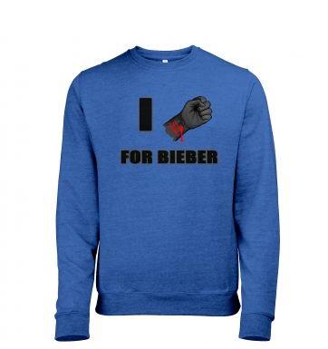 Fist I Cut For Bieber   sweatshirt