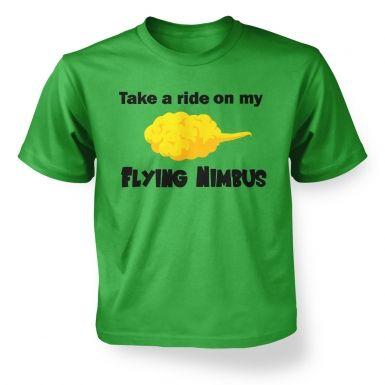 Flying Nimbus  kids t-shirt