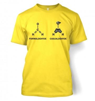Formaldehyde Casualdehyde t-shirt