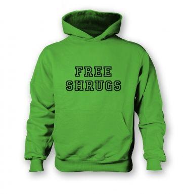 Free Shrugs  kids hoodie