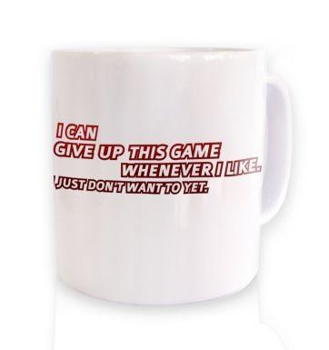 Game addict mug
