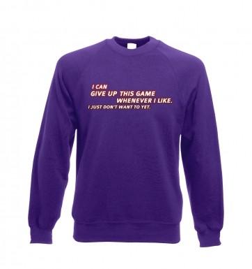 Game addict  sweatshirt