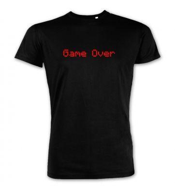 Game Over  premium t-shirt