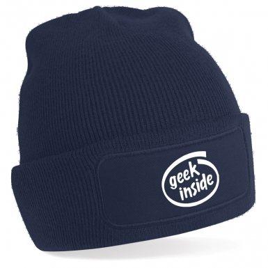 Geek Inside beanie hat