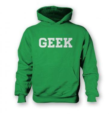 Geek kids' hoodie