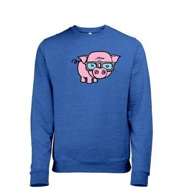 Geek Pig heather sweatshirt