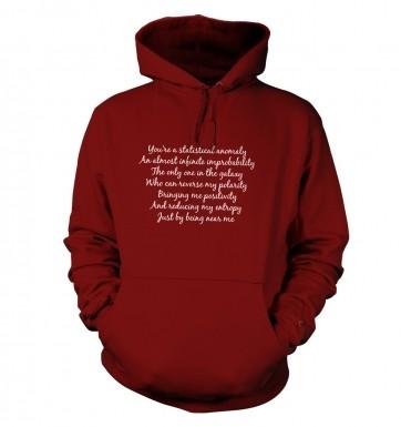 Geeky Love Poem hoodie
