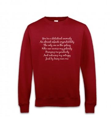 Geeky Love Poem sweatshirt