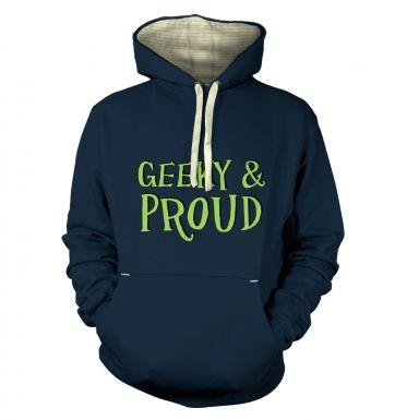 Geeky & Proud hoodie (premium)