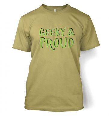 Geeky & Proud t-shirt