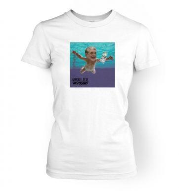 George Lucas Nevermind women's t-shirt
