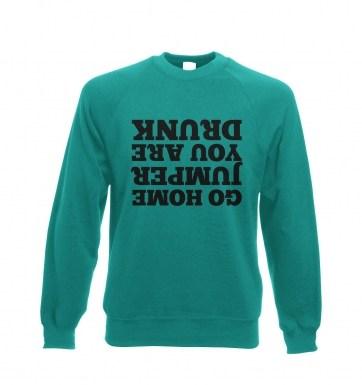 Go Home Jumper sweatshirt