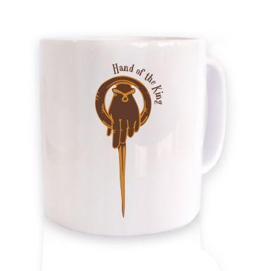 Gold Hand Of The King  mug