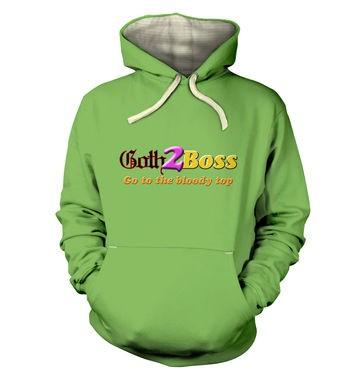 Goth2Boss premium hoodie