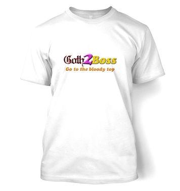 Goth2Boss t-shirt