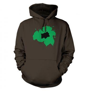 Green Bulbasaur Silhouette  hoodie
